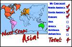 N & S America, Europe, Australia