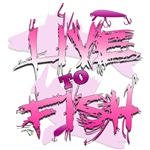 Live To Fish!_Pink