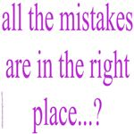 351. all the mistakes...
