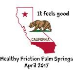 It's feels good in California.