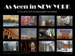As Seen in New York - Wall calendar and prints