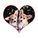 Corgi Love Heart T-shirts & Gifts