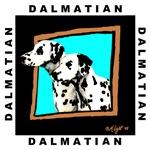 Dalmations in Window