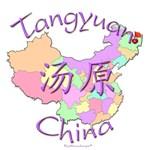 Tangyuan Color Map, China