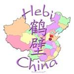 Hebi Color Map, China