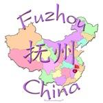 Fuzhou, Jiangxi, Color Map, China