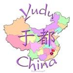 Yudu Color Map, China