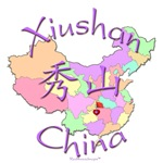 Xiushan Color Map, China