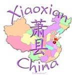 Xiaoxian China Color Map