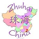 Zhuhai China Color Map