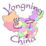 Yongning China Color Map