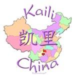 Kaili China Color Map