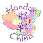 Handan China Color Map