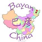 Bayan Color Map, China