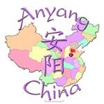 Anyang Color Map, China