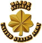 Army - Major - Retired w txt