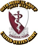 aaa vector graphics crest and patch 1  army 68th medical group with text