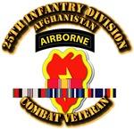 Army - 25th Infantry Div w Afghan Svc