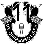 11th Special Forces - DUI - No Txt