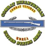 Army - CIB - 1st Award - Korea