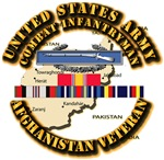 Army - Cbt Infantryman w Afghan SVC Ribbons