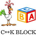 C**K Block