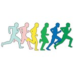 Multicolored Runners T-Shirts and Gifts