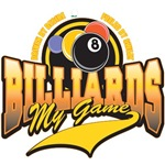 Billiards My Game T-Shirts and Gifts