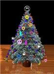 3D Christmas Peace Tree