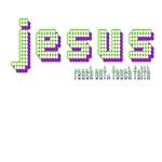 Green/Purple Jesus
