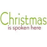 Christmas is Spoken Here