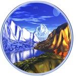 3D Metal Mountains
