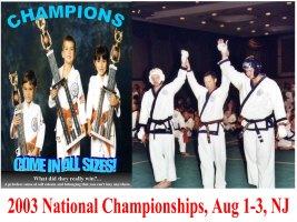 2003 National Championships