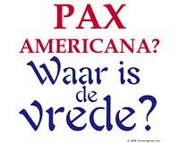 Pax Americana (Dutch)
