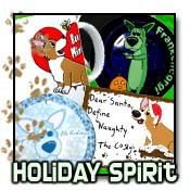 Corgi Holiday Designs