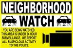Neighborhood Watch Warning