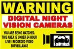 Warning Night Vision Cameras