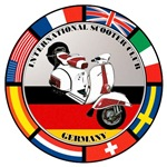 GERMANY VESPA SCOOTER FLAG T-SHIRTS & GIFTS