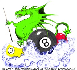Dragon Pool Billiard T-shirts, Posters And Gifts