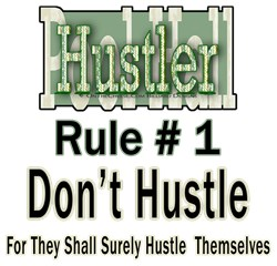 Pool Hall Hustler House Rules
