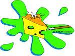 Splat - 9 ball mouse goes for a joy ride cartoon