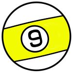 9 Ball Billiard Ball T-shirts And Novelty Gifts