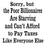 Billionaires Can't Afford Taxes Like Everyone Else