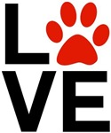 Love Dogs / Cats Pawprints