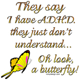 ADHD Butterfly