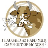 Cow Milk Out My Nose
