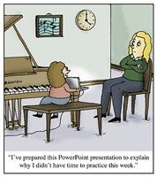 Practicing Presentation