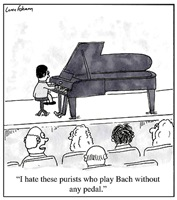 Bach without Pedal