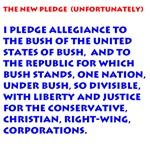 New Pledge Of Allegiance
