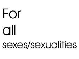 For all sexes/sexualities